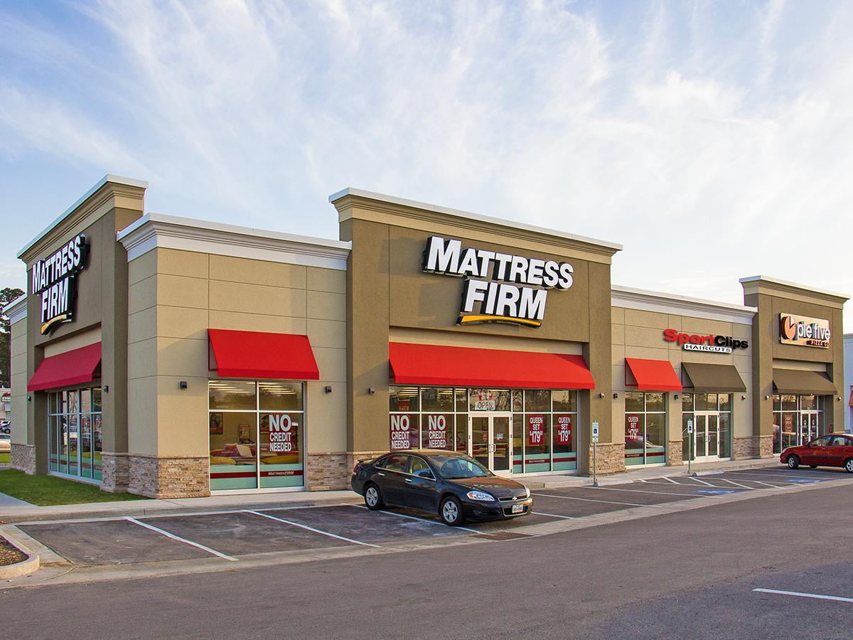 Mattress Firm Strip Center. Lufkin, TX